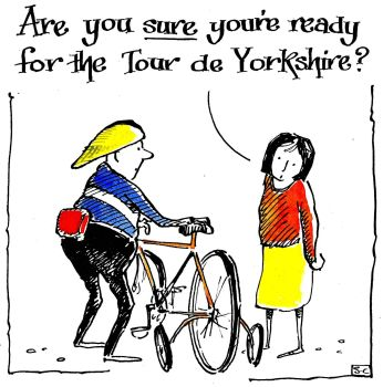 Are You Sure .... Tour de Yorkshire?