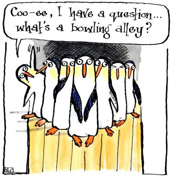 Bowling Penguins