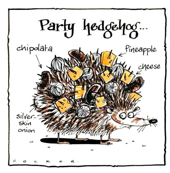 Hedgehogs, Rabbits & Foxes Cards