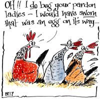 Hen Manners - Oh I Do Beg Your Pardon