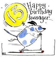 13 Happy Birthday Teenager
