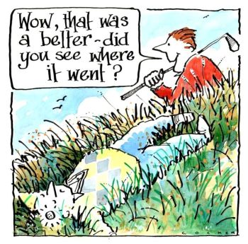 Golf - Where did it go?