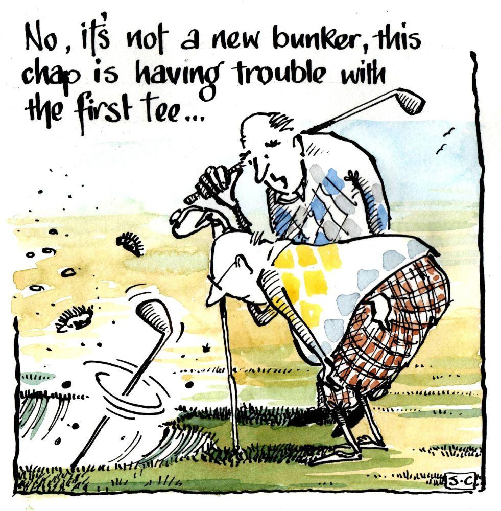 Golf - New Bunker