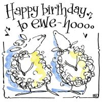 Happy Birthday to Ewe Hooo