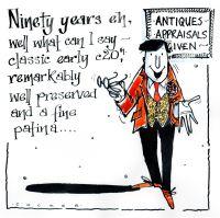 90 Antiques -  Appraisals Given