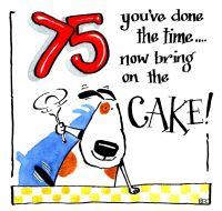 75 Cake