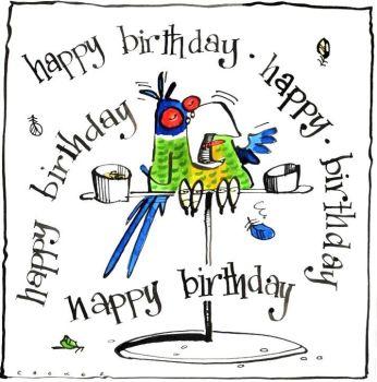 Birthday Parrot