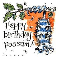 Happy Birthday Possum