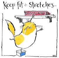 Keep fit - Stretches