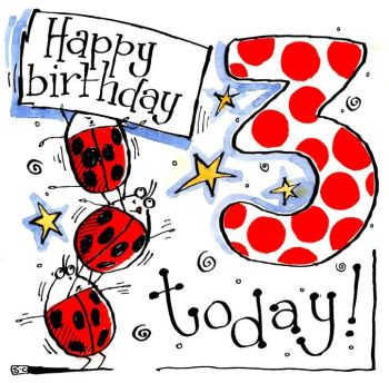0 3RD Birthday