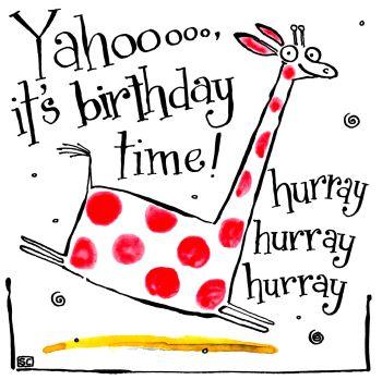 A Birthday Yahooo