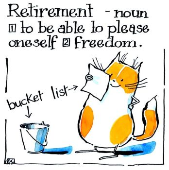 Retirement - Cat Bucket List