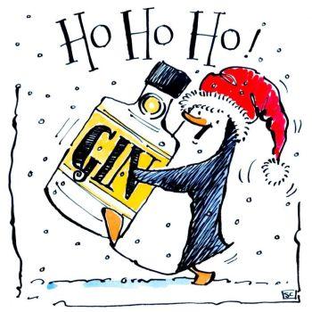 Ho Ho Ho....Penguin Christmas