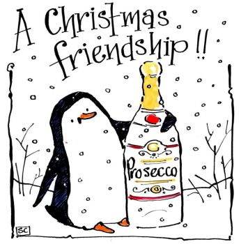 A Christmas Friendship - with added Prosecco