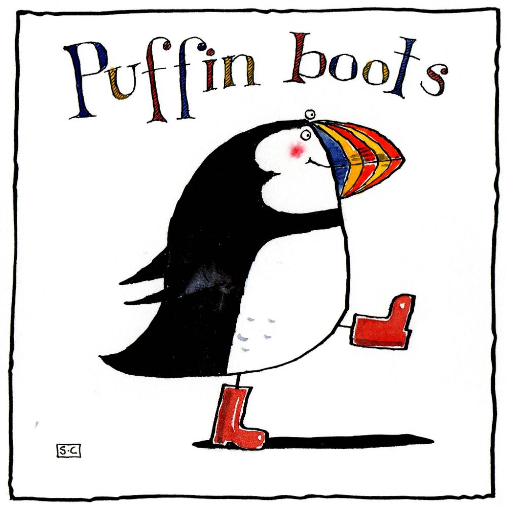 Puffins & Penguins Cards