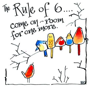 The Rule of Six - With The Birds