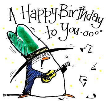 Happy Birthday - Penguin Serenade