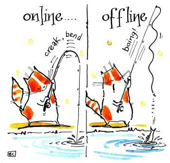 Online Fishing