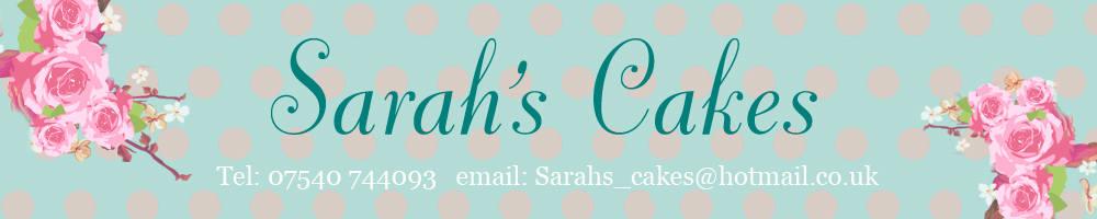 Sarah's Cakes, site logo.