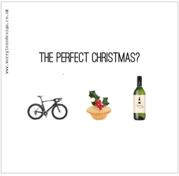 Cycling Christmas Card - The perfect (cycling) christmas?