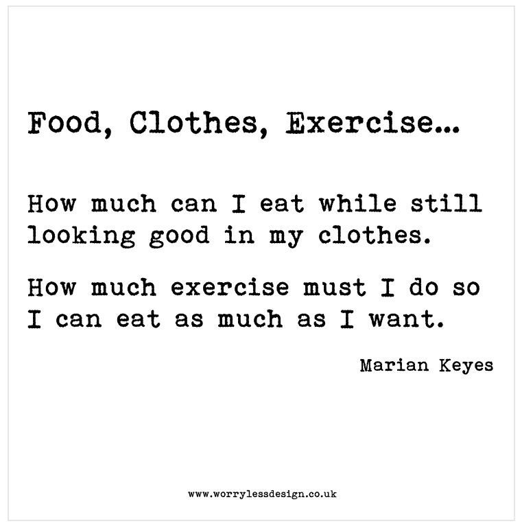 food_clothes_exercise