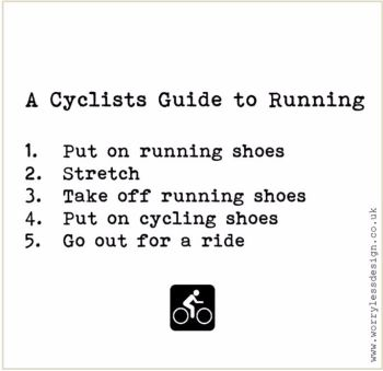 A Cyclists Guide to Running