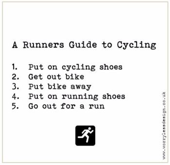 A Runners guide to Cycling