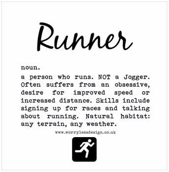 Runner - Dictionary Definition
