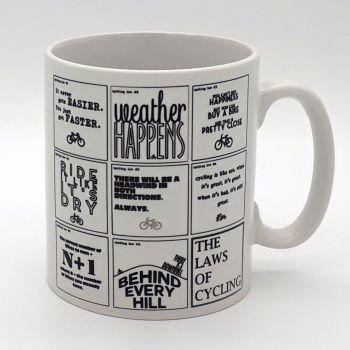 Mug - The Cycling Laws
