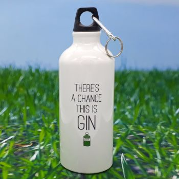 Water bottle - There's a chance this is Gin