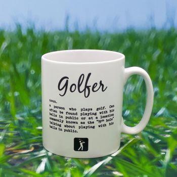 Mug - Golfer