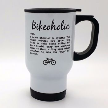 Travel Mug - Bikeoholic