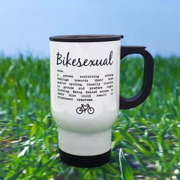 Travel Mug - Bikesexual