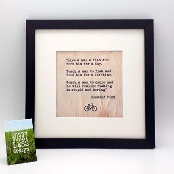 Framed Print - Desmond Tutu Quote