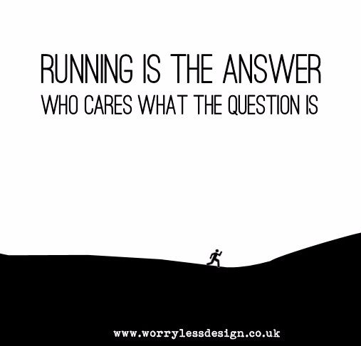 RUnning is the answer