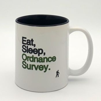 Mug - Eat Sleep Ordnance Survey
