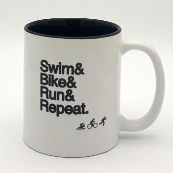Mug - Swim Bike Run Repeat