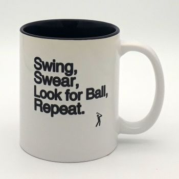 Mug - Swing Swear Look for Ball Repeat