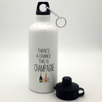 Water bottle - There's a chance this is Champagne