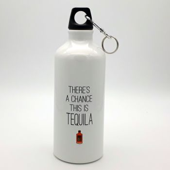 Water bottle - There's a chance this is Tequila