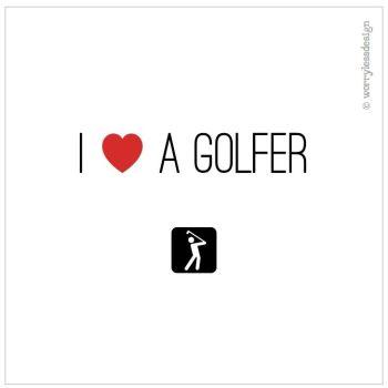 I heart a golfer