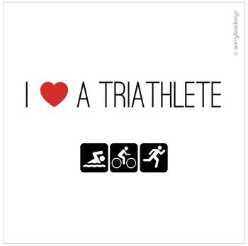 I heart a triathlete