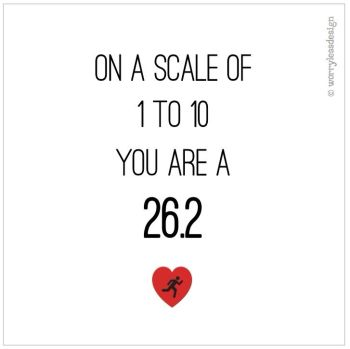 On a scale of 1 to 10, you are a 26.2