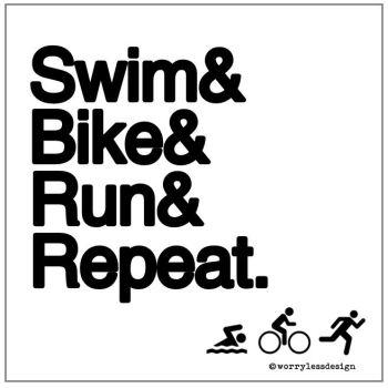 Swim, Cycle, Run, Repeat