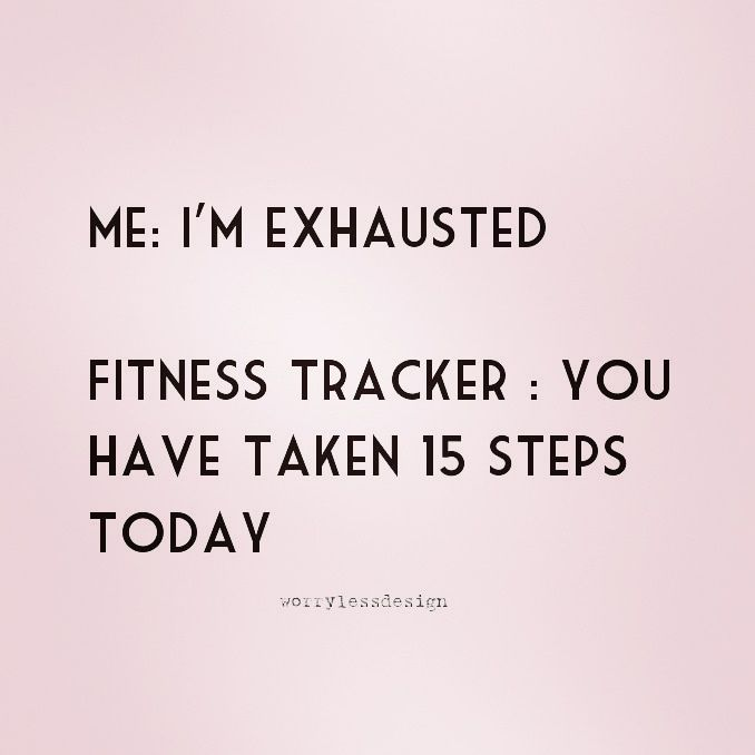 Funny Fitness Tracker Quote