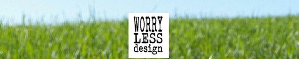 Worry Less Design, site logo.