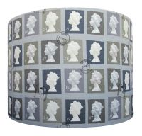 Postage stamp lampshade