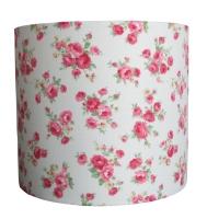 Pink roses lampshade