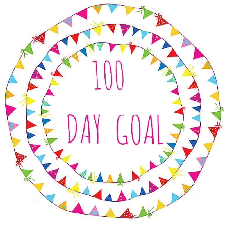 100 day goal