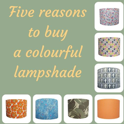 Five Reasons to Buy a Colourful Lampshade